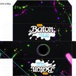Caixa Baton Festa Neon