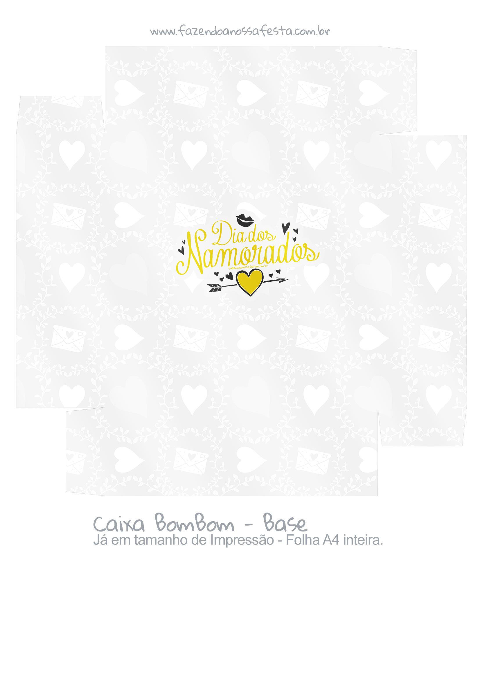 Caixa Bombom Dia dos Namorados 3 - parte 2