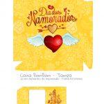 Caixa Bombom Dia dos Namorados Amarela - Parte 1