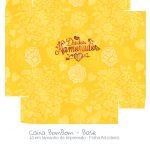 Caixa Bombom Dia dos Namorados Amarela - Parte 2