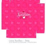 Caixa Bombom Dia dos Namorados Rosa- parte 2