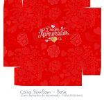 Caixa Bombom Dia dos Namorados Vermelho - parte 2