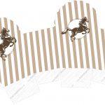 Caixa Cupcake Cavalo