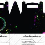 Caixa Lembrancinha Festa Neon