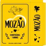 Caixa Mozão Presente Dia dos Namorados - Amarela - Parte 1