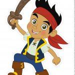 Centro de Mesa Jake e os Piratas da Terra do Nunca 1-1