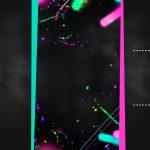 Chalkboard Festa Neon