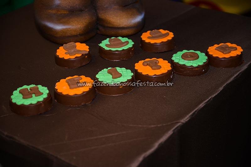 Chocolates Ideias para Festa Cavalos