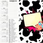 Convite Calendário 2016 Miga sua Loka