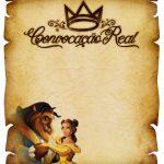 Convite Pergaminho Bela e a Fera 4