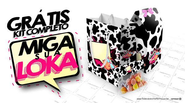 Kit Festa Miga sua Loka