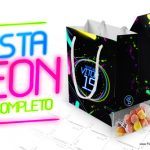Kit Festa Neon Grátis para Imprimir