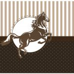 Lata de leite Cavalo