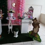 Lembrancinhas Festa Marsha e o Urso Pietra