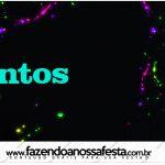 Mentos Kit Festa Neon