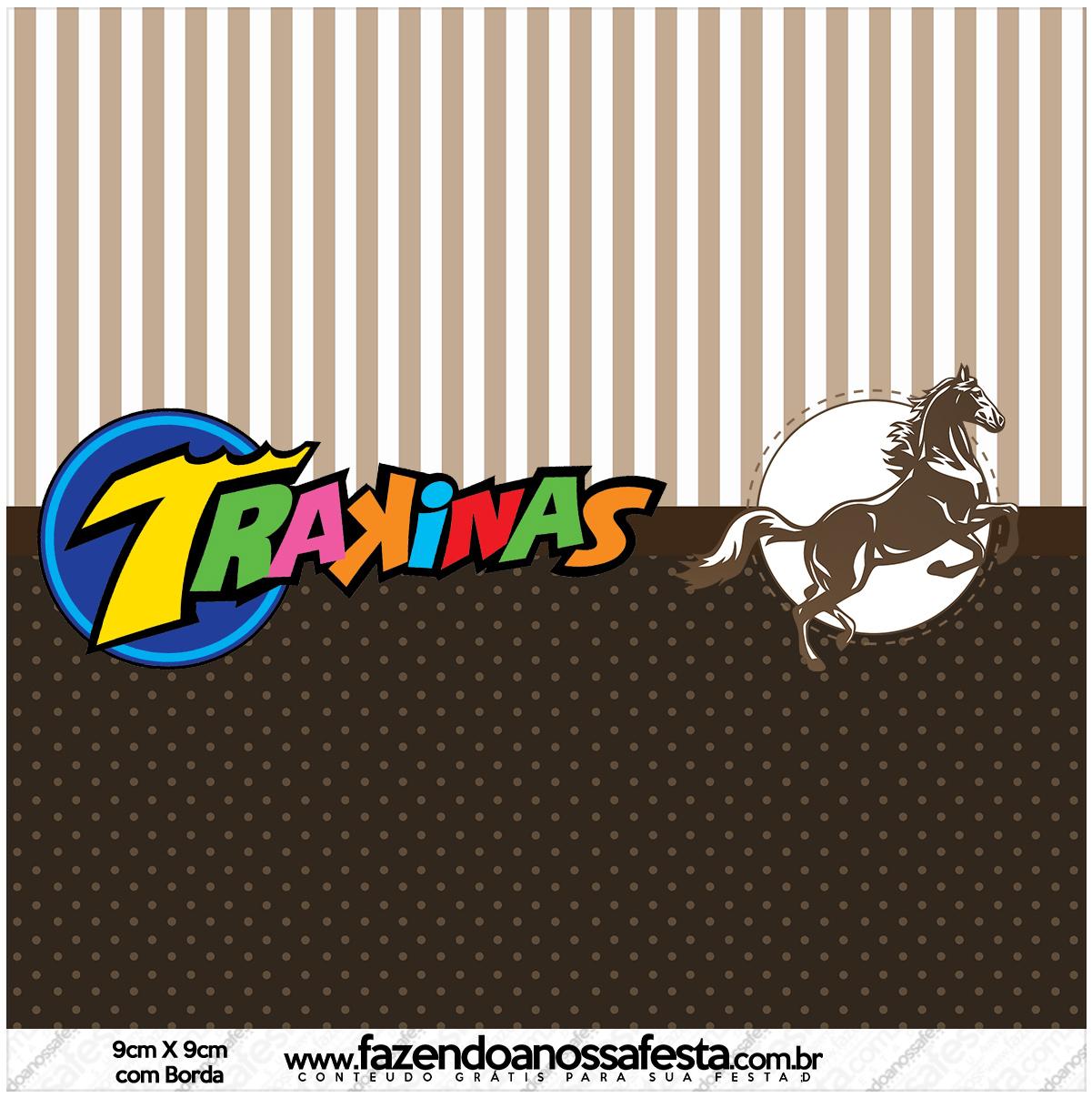 Mini Trakinas Cavalo