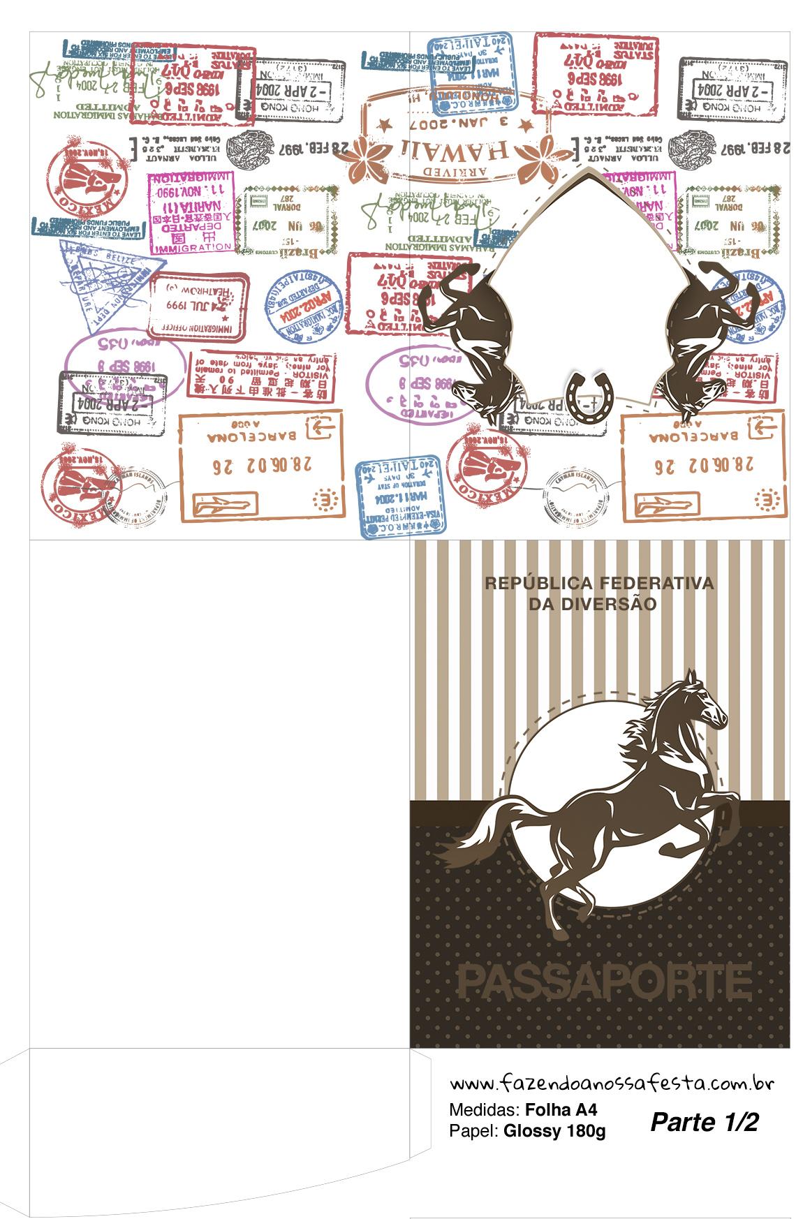 Passaporte Cavalo