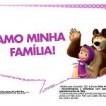 Plaquinhas Masha e o Urso 12