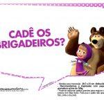 Plaquinhas Masha e o Urso 15