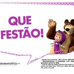 Plaquinhas Masha e o Urso 16