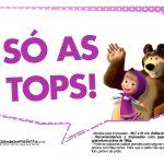 Plaquinhas Masha e o Urso 19