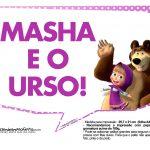 Plaquinhas Masha e o Urso 21