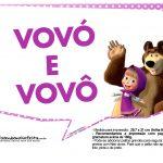 Plaquinhas Masha e o Urso 4