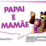 Plaquinhas Masha e o Urso 5