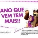 Plaquinhas Masha e o Urso 6