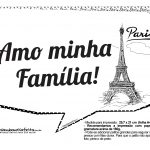 Plaquinhas Paris Preto e Branco 14