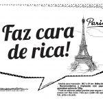 Plaquinhas Paris Preto e Branco 15