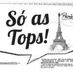 Plaquinhas Paris Preto e Branco 16