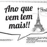 Plaquinhas Paris Preto e Branco 2