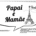 Plaquinhas Paris Preto e Branco 3