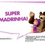 Plaquinhas divertidas Masha e o Urso 8