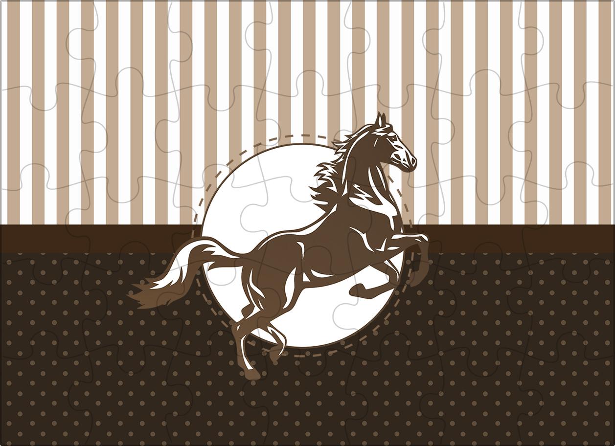 Quebra-cabeça Cavalo