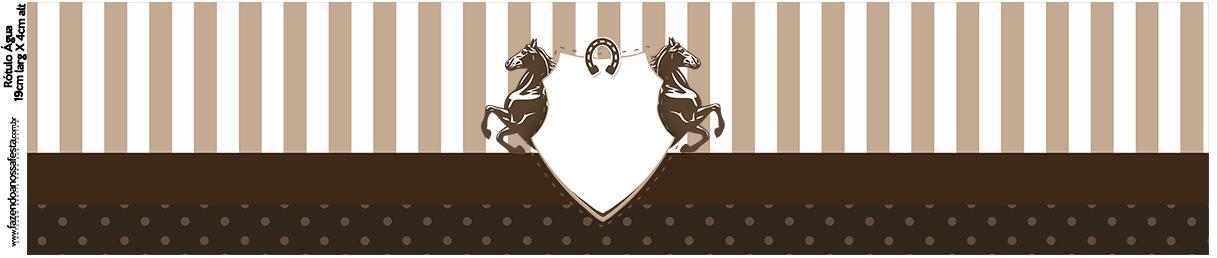 Rotulo Agua Cavalo