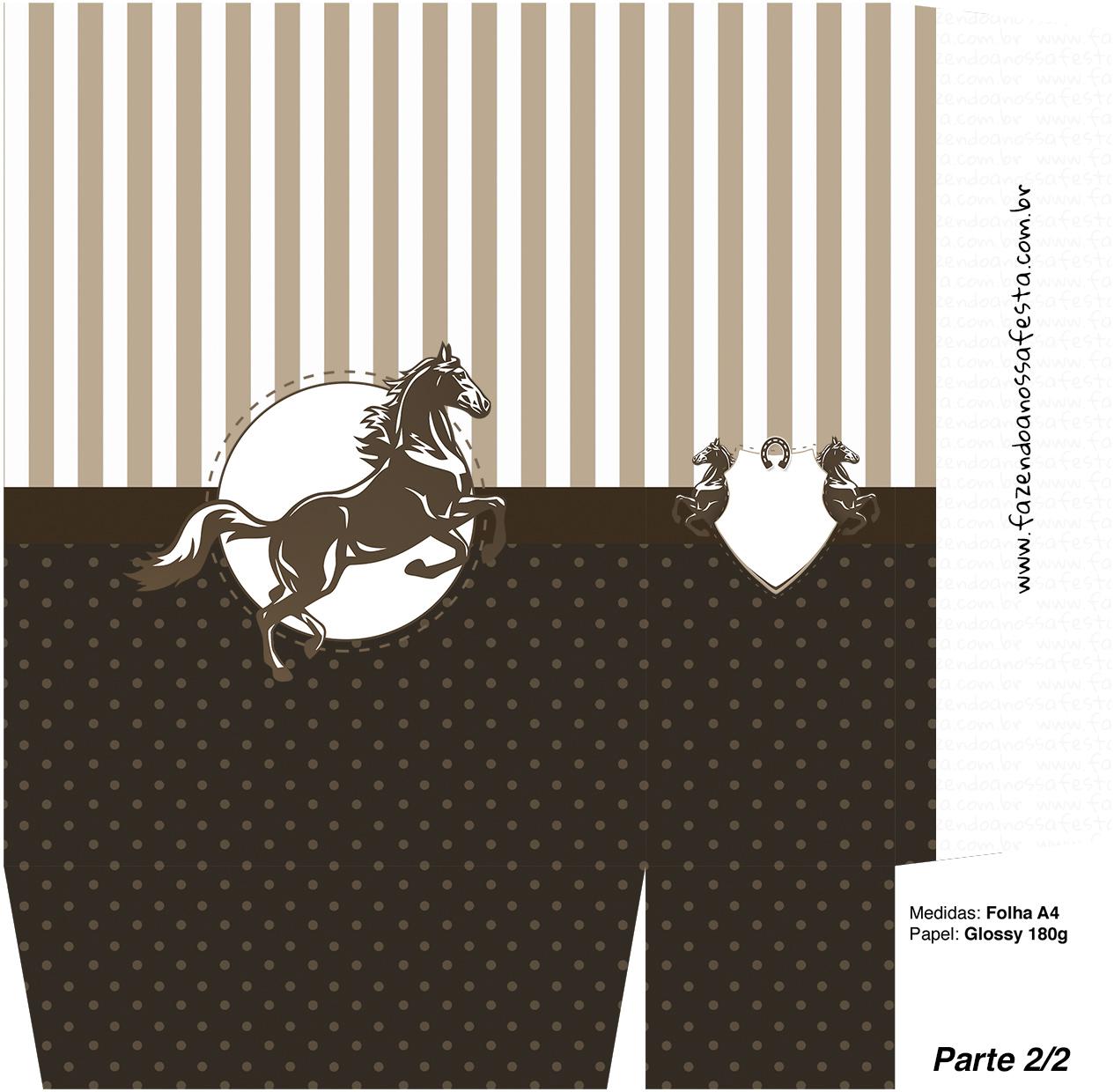 Sacolinha Cavalo - parte 2