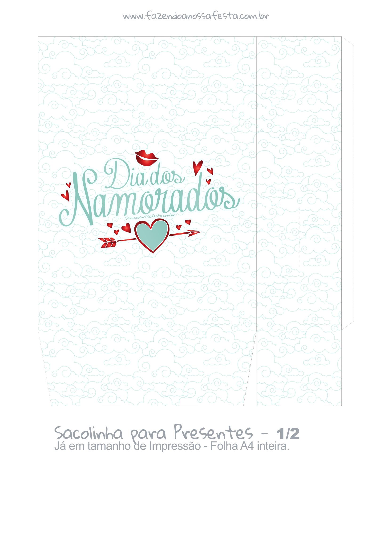 Sacolinha Dia dos Namorados Anjinho - parte 2