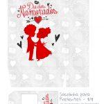 Sacolinha Dia dos Namorados Casal Apaixonado - parte 1