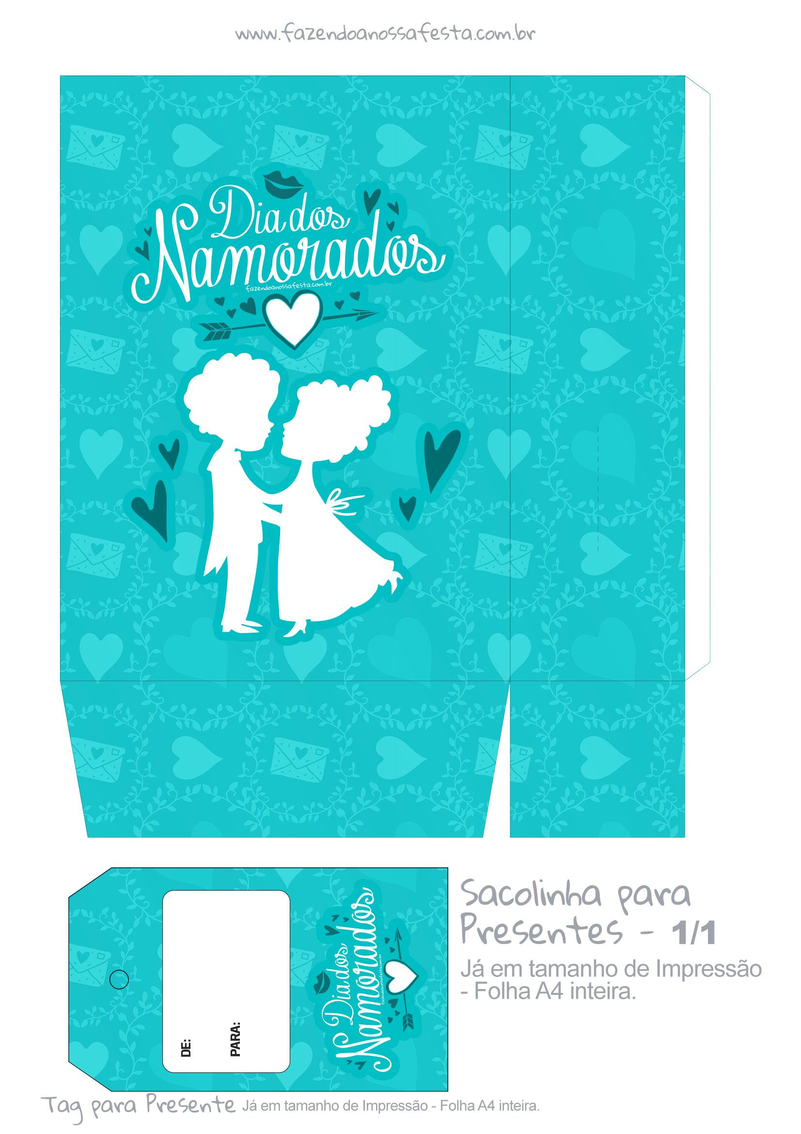 Sacolinha Dia dos Namorados Casal - parte 1
