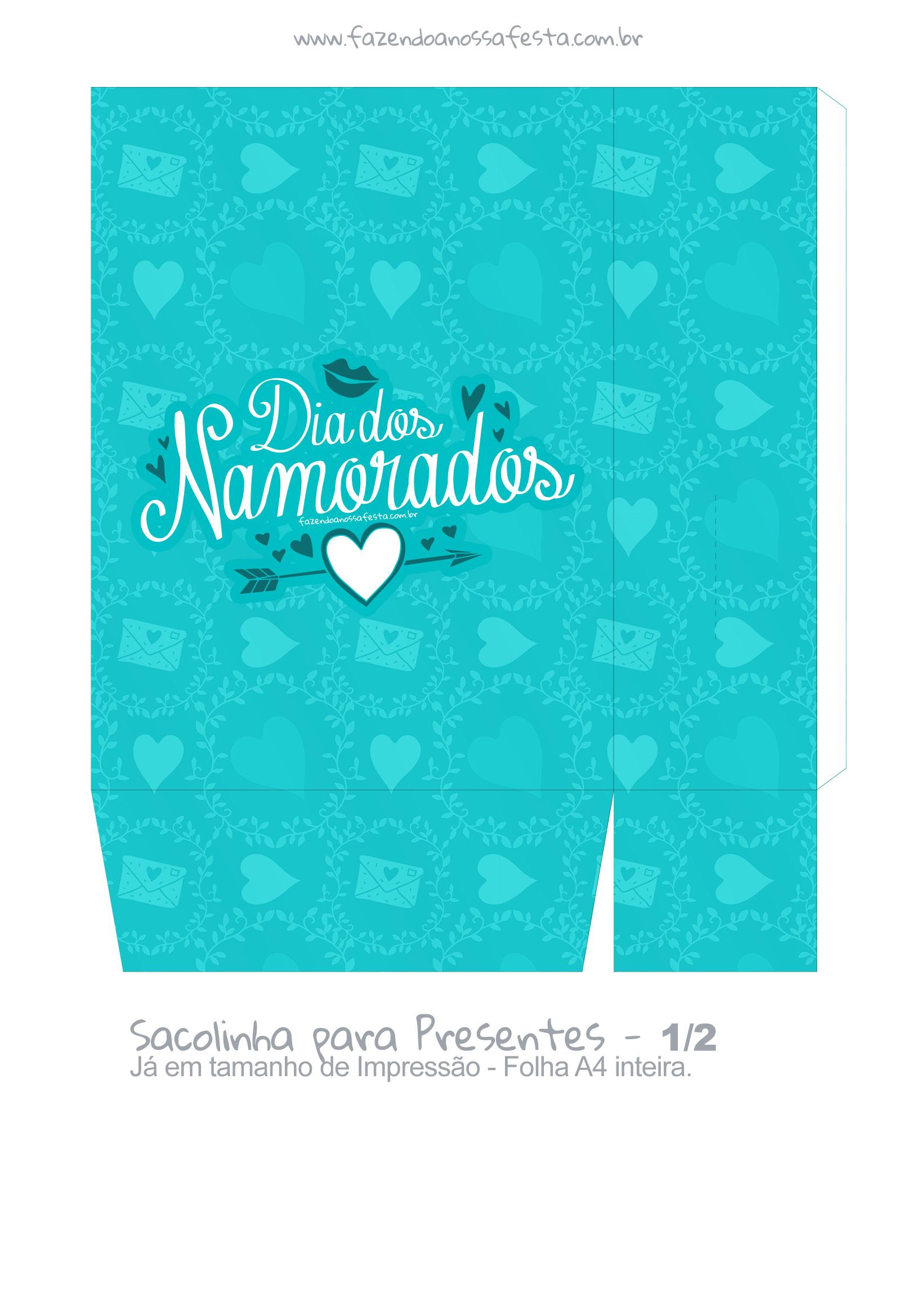 Sacolinha Dia dos Namorados Casal - parte 2