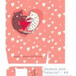 Sacolinha Dia dos Namorados Gatinhos - parte 1