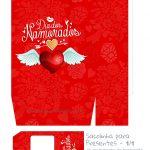 Sacolinha Dia dos Namorados Vermelha - parte 1
