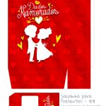 Sacolinha Dia dos Namorados Vermelho -parte 1