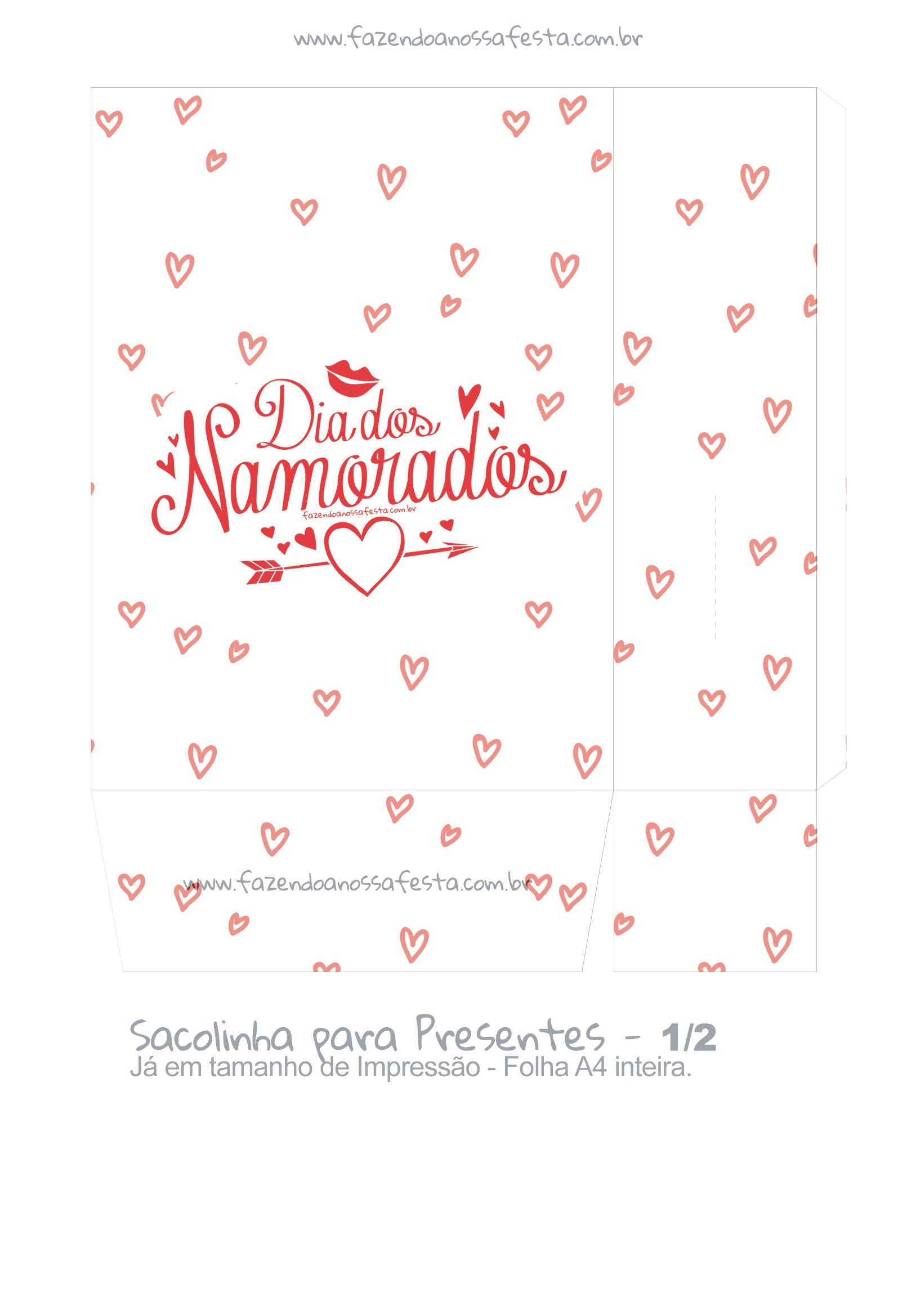 Sacolinha Surpresa Dia dos Namorados - parte 2