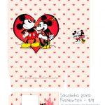 Sacolinha Surpresa Vermelho Kit Presente Mickey e Minnie Vintage - parte 1