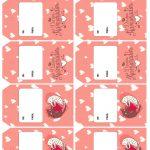 Tag Presente Dia dos Namorados Gatinhos