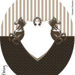 Tubete Oval Cavalo