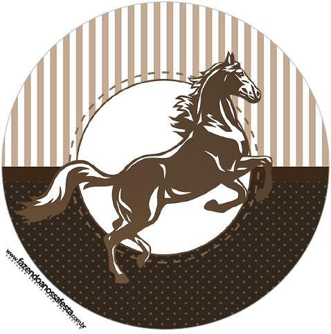 Tubete e toppers Cavalo